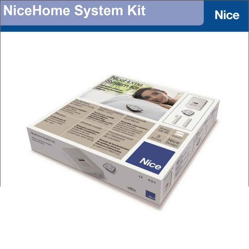 kit alarme maison nice home hskit1gwfr habitat automatisme. Black Bedroom Furniture Sets. Home Design Ideas