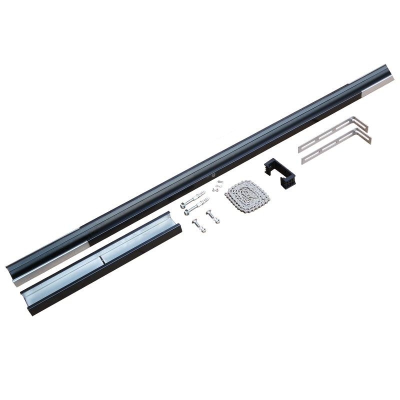 Kit rallonge 1600 mm sommer habitat automatisme for Porte de garage 60 mm