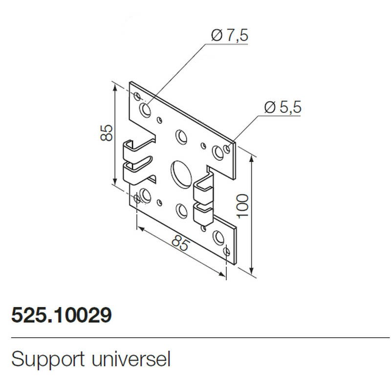 Support moteur universel