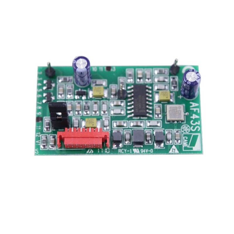 Carte radio came af43s habitat automatisme for Came zbx74 78 schema