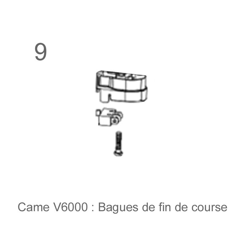 Bague fin course came v6000 habitat automatisme for Garage piece detachee