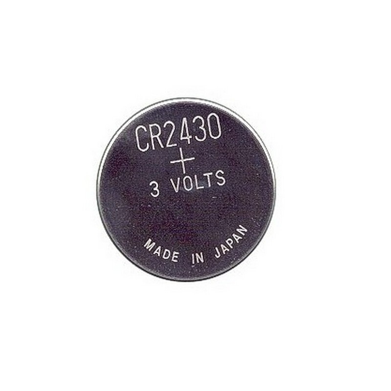 Pile bouton CR2430