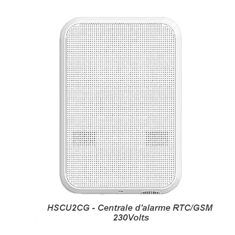 Centrale d'alarme 230 Volts Nice HSCU2GCFR