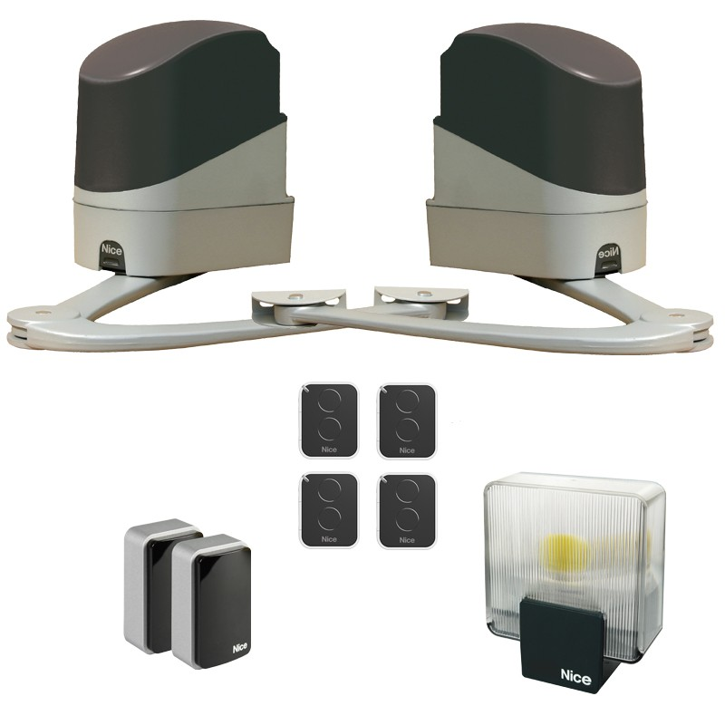 Nice PopKit - Motorisation de portail battant  4 émetteur