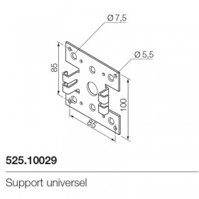 Support moteur Nice 525.10029