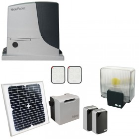Nice RobusKit 600 Solemyo Motorisation coulissant Energie solaire