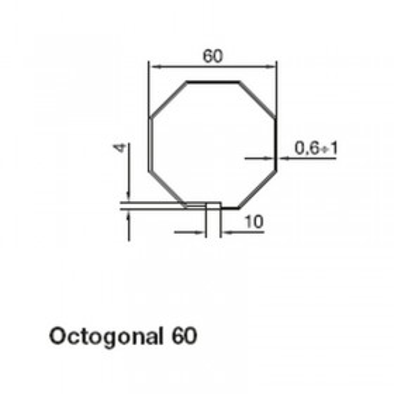 Adaptation Octogonal 60 Série Max