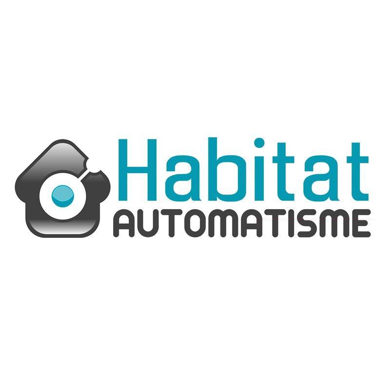 SAREL Plexo - Bouton poussoir étanche gris saillie MUREVA