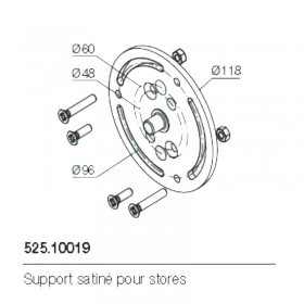 Support moteur Nice 525.10019