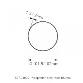 Adaptation Rond 102mm - NICE XL
