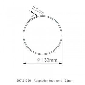 Adaptation Rond 133mm - NICE XL