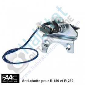 Faac R180 /R280 Dispositif anti-chute