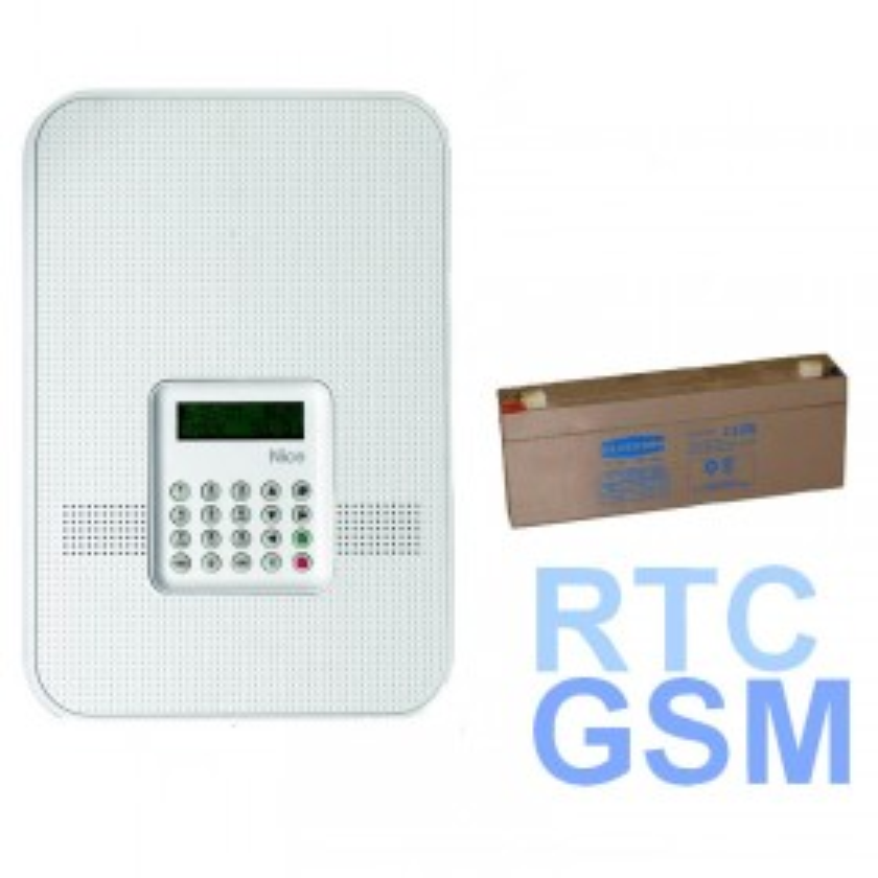 Nice HSCU1GCFR - Centrale d'alarme maison