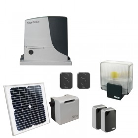 Nice RobusKit 1000 Solemyo Motorisation coulissant Energie solaire
