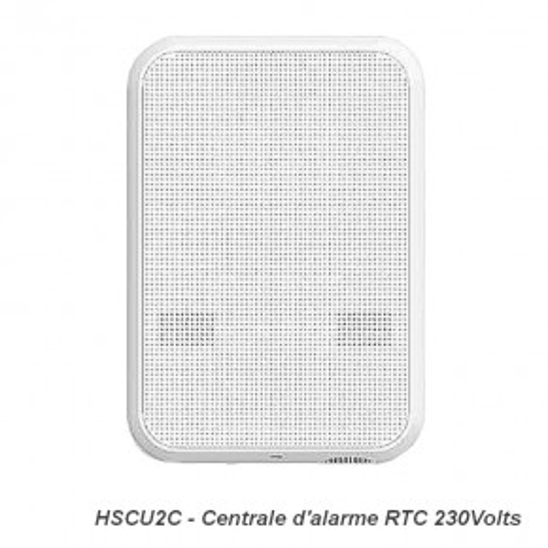 Centrale d'alarme 230 volts HSCU2CFR